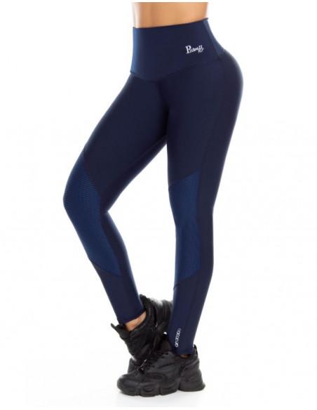 malla deportiva pitbull azul delantera de1088