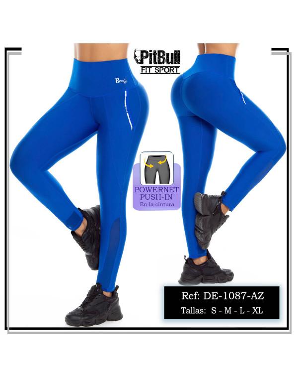 malla deportiva pitbull azul de1087