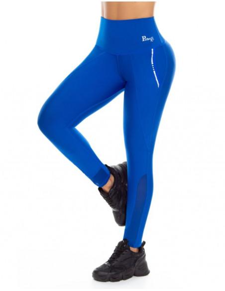 malla deportiva pitbull azul delantera de1087
