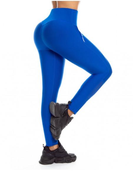 malla deportiva pitbull azul trasera de1087