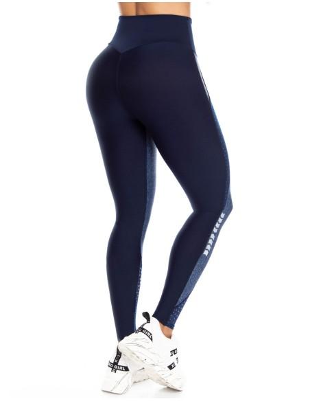malla deportiva pitbull azul trasera de1062