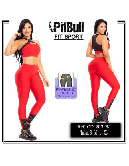 conjunto deportivo rojo cd203