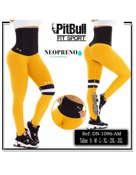 malla deportiva neopreno amarilla dn1096